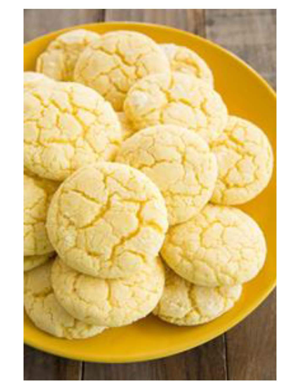 Lemon Crinkle Cookies Photo