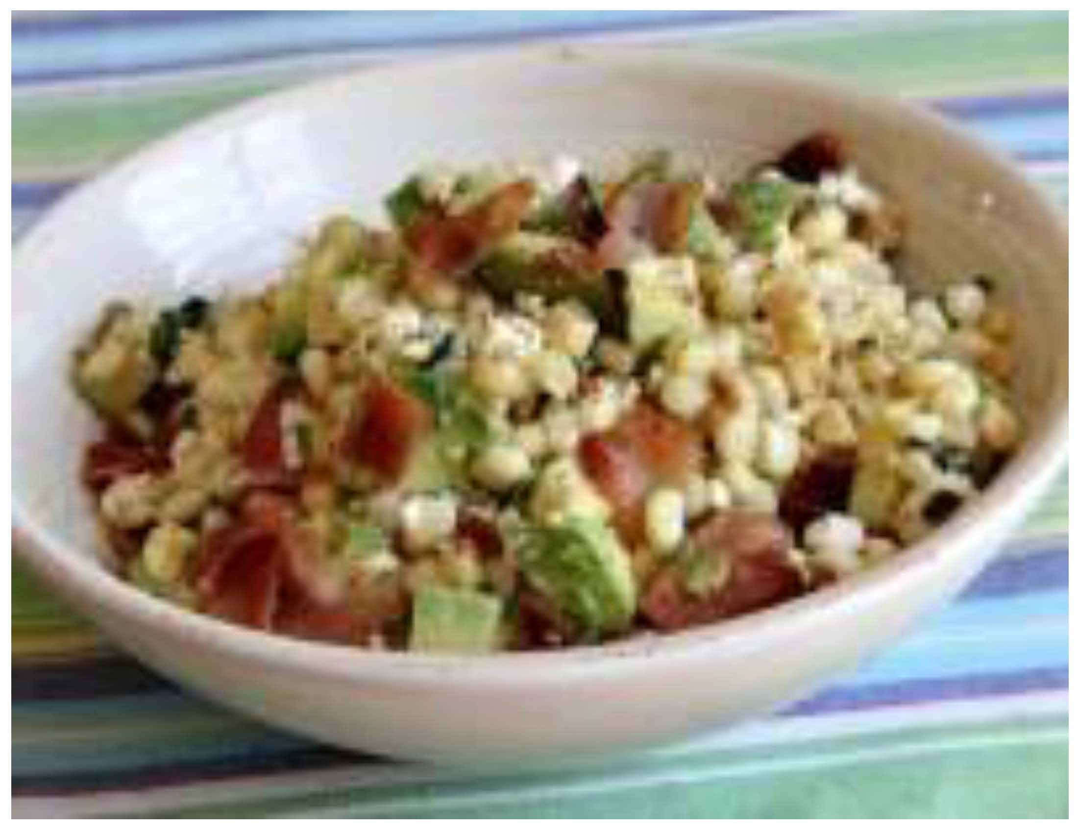 Bacon Avocado and Corn Salad Sept 18 Photo